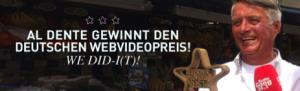 al Dente gewinnt den deutschen Webvideopreis